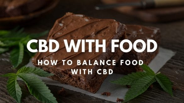 CBD with food