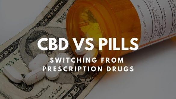CBD vs pills