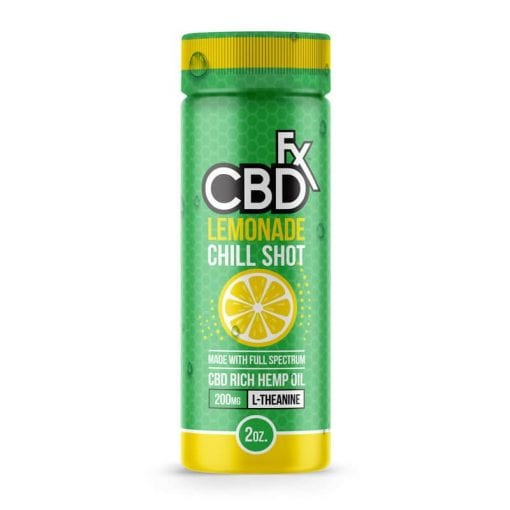 CBDx chill shot lemonade