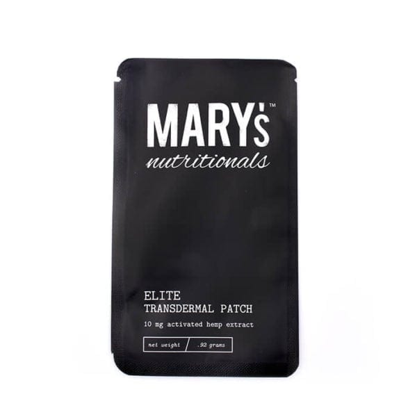 Mary Nutritionals cbd patches